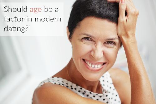 older woman smiling