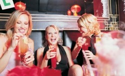 Ladies out drinking