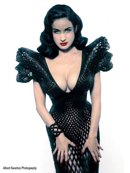 Dita Von Teese 3D dress