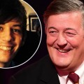Stephen Fry and toyboy Elliot Spencer