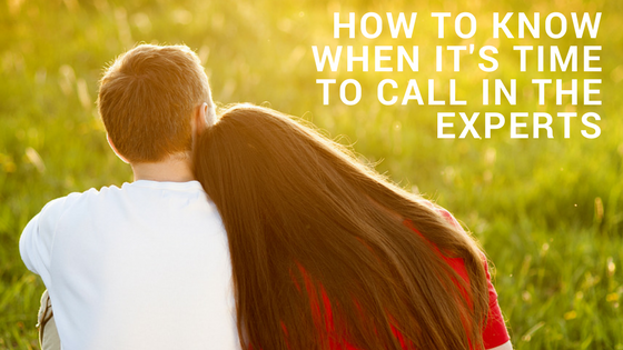 How To Know When It's Time To Call in The Experts