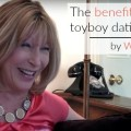 Wendy Salisbury discussing the benefits of toyboy dating