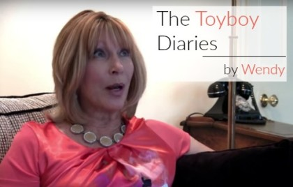 Wendy Salisbury discussing her novel The Toyboy Diaries