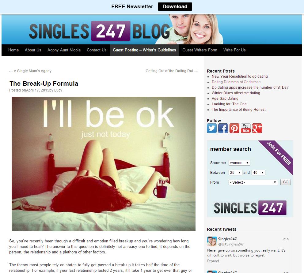 Singles 247