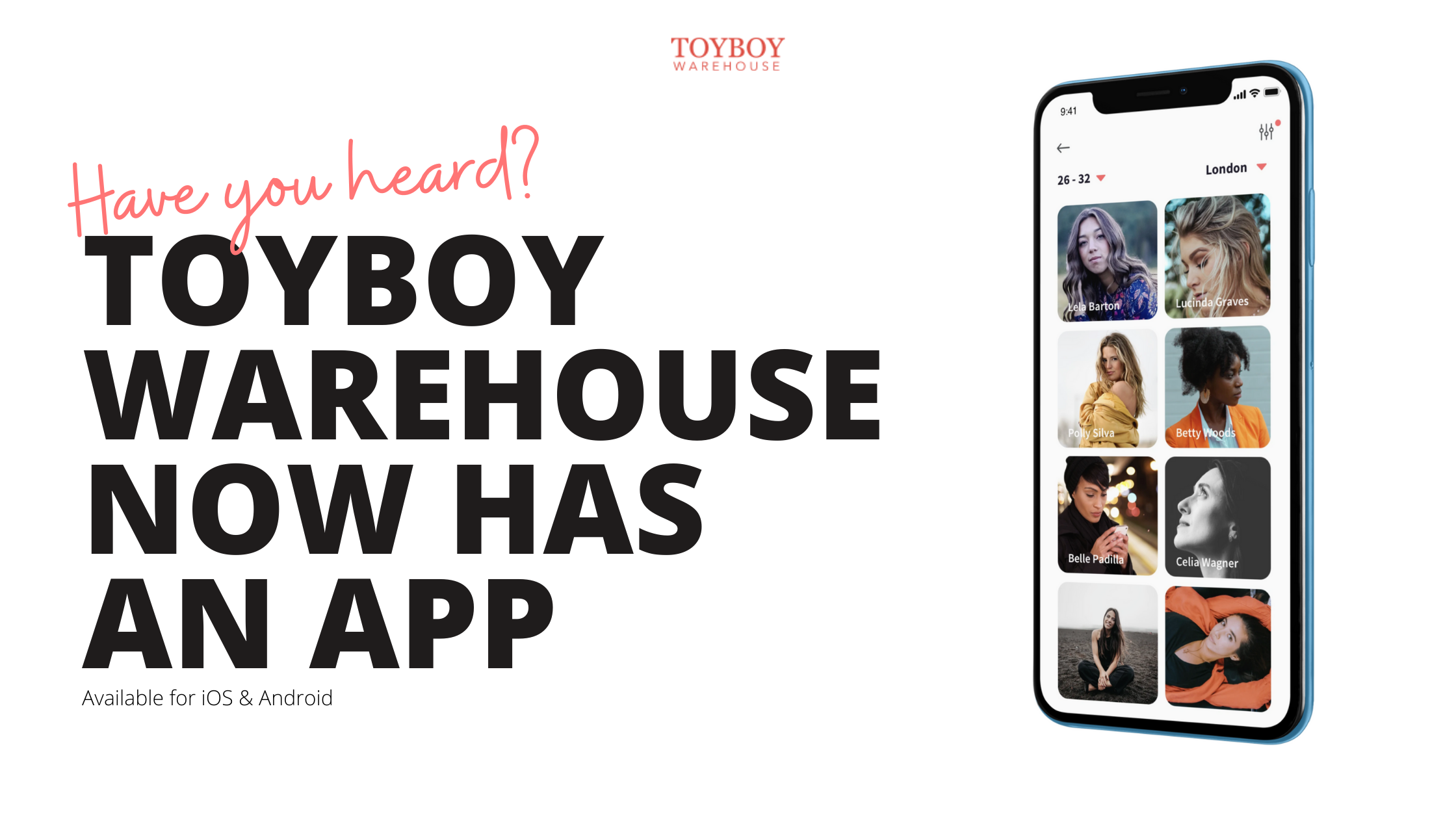 Introducing The Toyboy Warehouse App